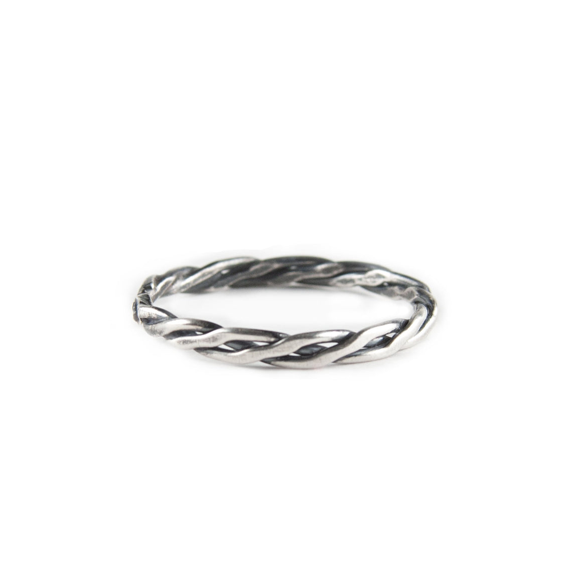 Christelle Oxidized Stacking Ring available at Micky Chase Jewelry