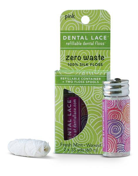Refillable Dental Floss - Dental Lace - ZeroWasteSociety