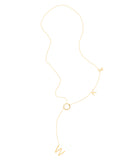 Woke Lariat Necklace