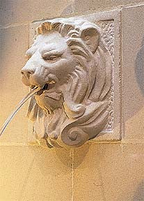 Lion Wall Mask Fountain