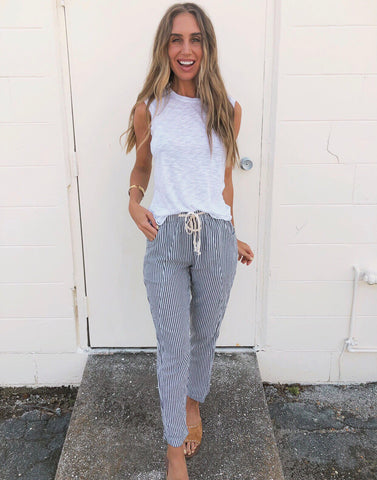The Nantucket Striped Pants