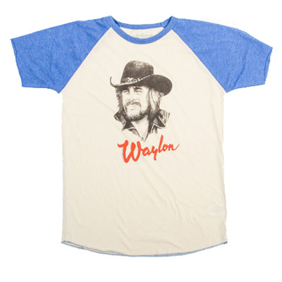Waylon Jennings Portrait Kid's Tee - Kid's Tee Shirt - Waylon Jennings Merch Co.