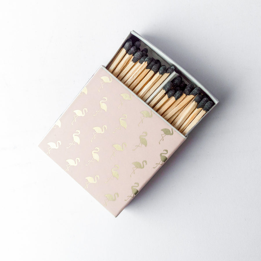 Fancy Feathers - Square Matchbox