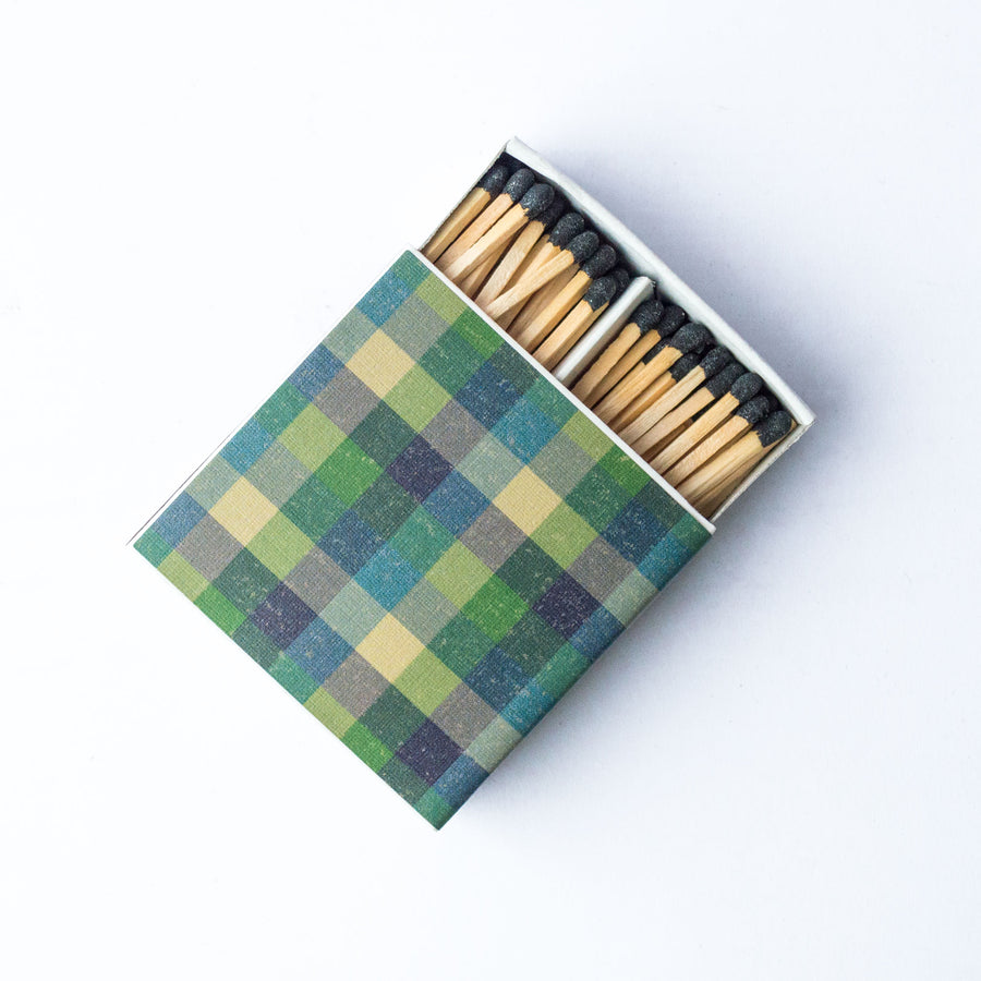 Forest Flannel - Square Matchbox