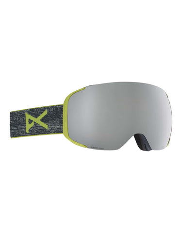 Image of Anon M2 MFI Ski Goggles-Weave / Sonar Silver Lens-aussieskier.com