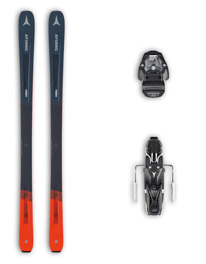 Atomic Vantage 86 C Skis + Atomic Warden 11 MNC Bindings Package 2020-165cm-aussieskier.com