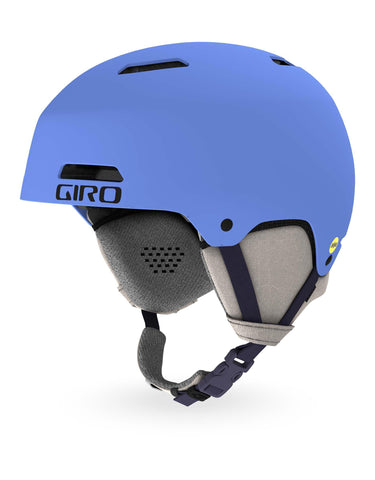 Image of Giro Ledge MIPS Ski Helmet-Small-Matte Shock Blue-aussieskier.com
