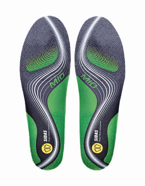 Sidas 3Feet Active Mid Prefabricated Insoles