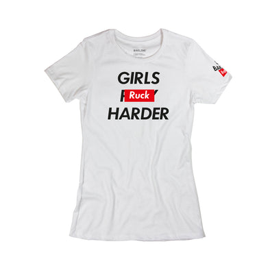 Girls Ruck Harder Cotton Short Sleeve - Bakline