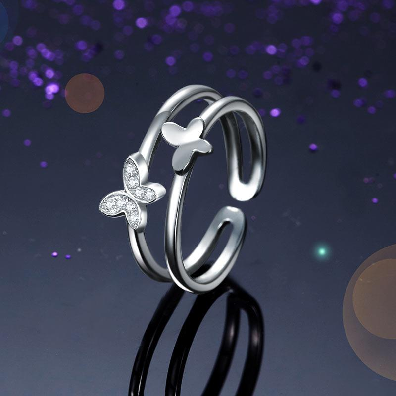 Wild Butterflies Ring