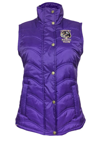 Berry Quilted Women's Gilet