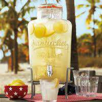 8 Litre Glass Continuous Brewing jar by Nantucket