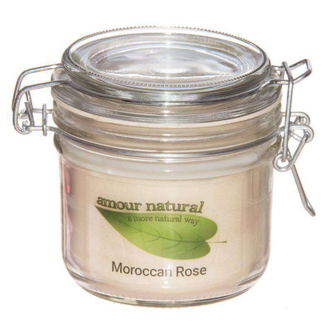Moroccan Rose Candle, 200ml Clip Jar candle