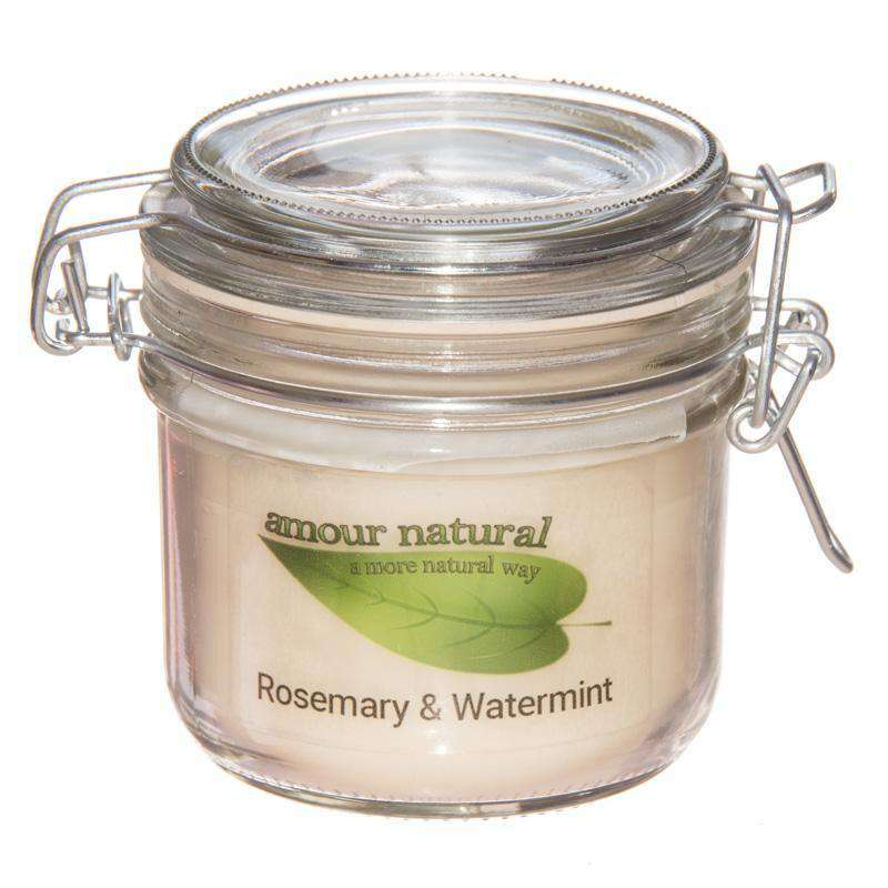 Rosemary and Watermint Candle, 200ml Clip Jar candle
