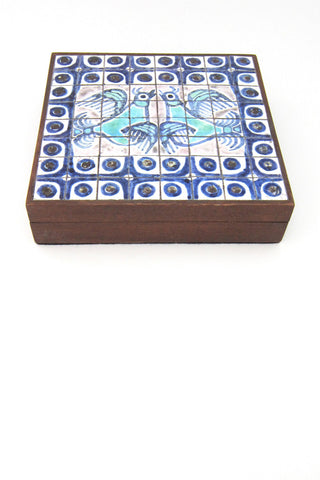 tiled trinket box