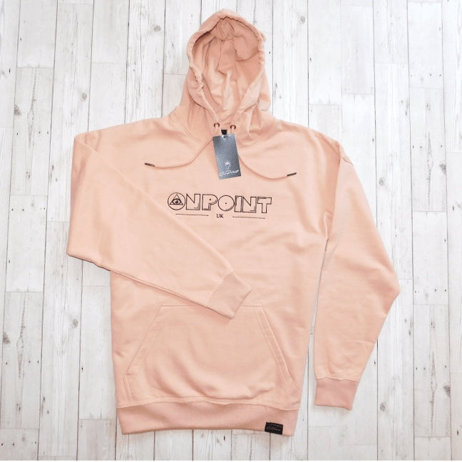 ONPOINT® Original - Distressed Hem Oversized Hoodie in Rose