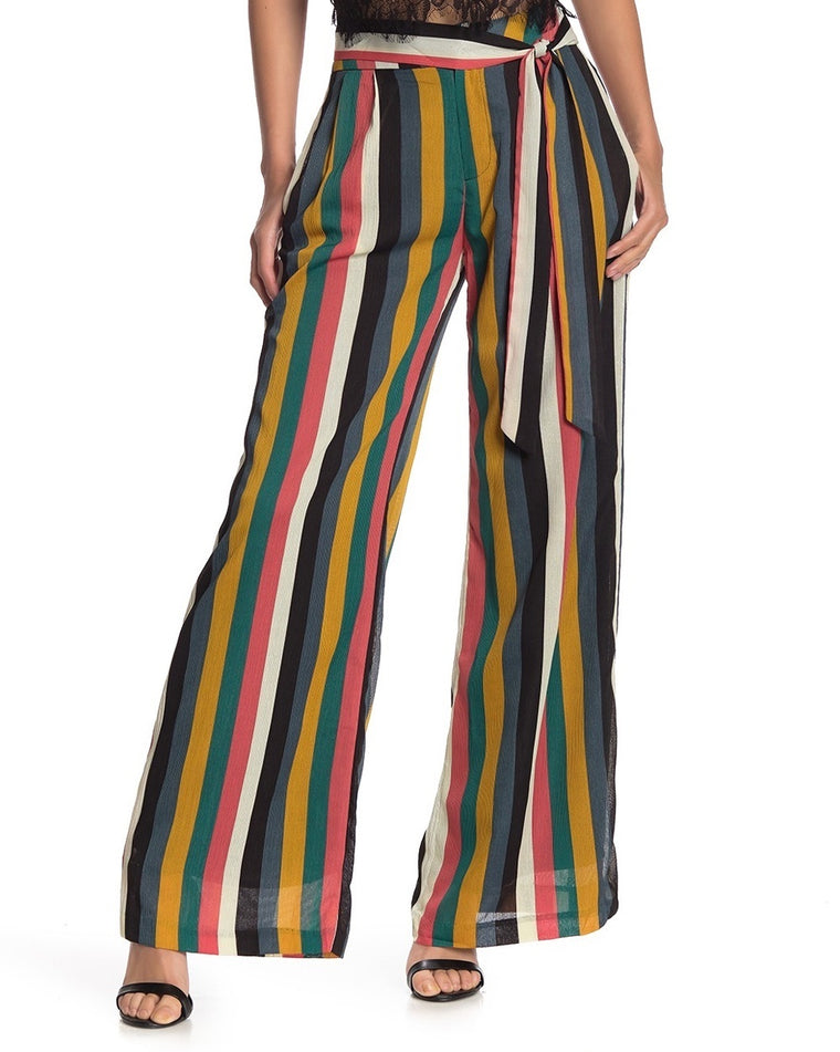 Laurel Striped Wide Leg Pants