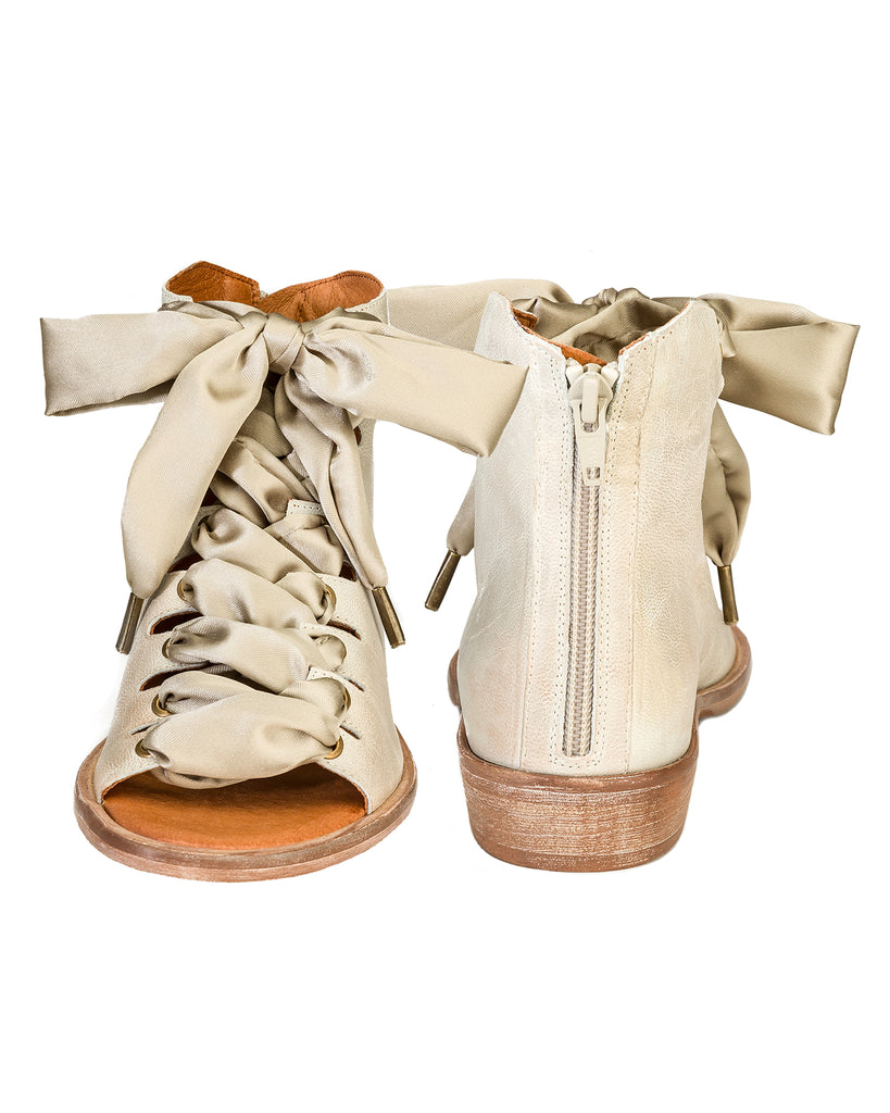 Palms Lace-Up Sandals