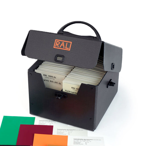 Portable Registerbox for RAL840 & 841