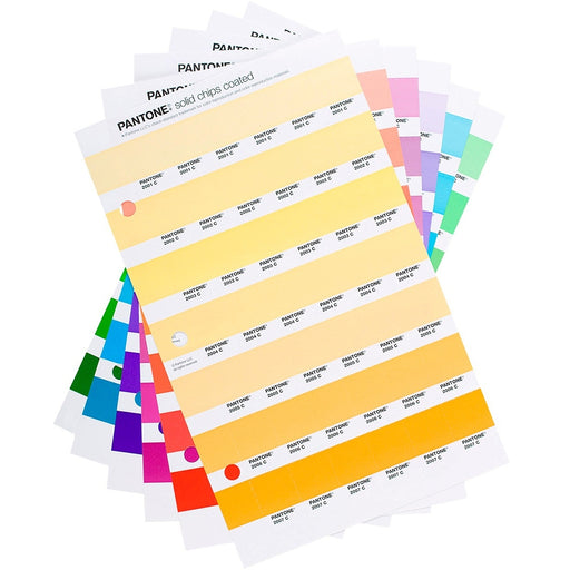 PANTONE Solid Chips replacement pages coated (1 pk)