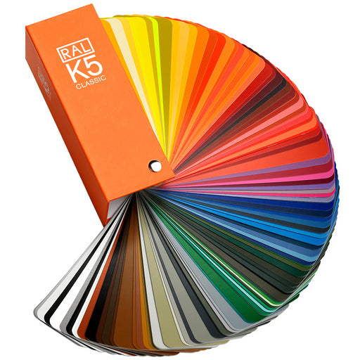 RAL K5 - Colour fan deck High Gloss