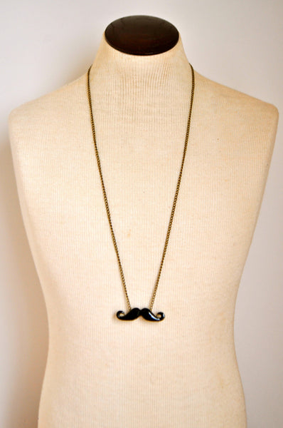 Mustache Darling Necklace
