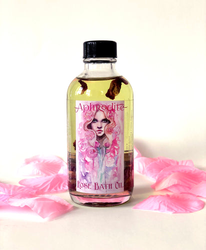 Aphrodite Rose Bath Oil