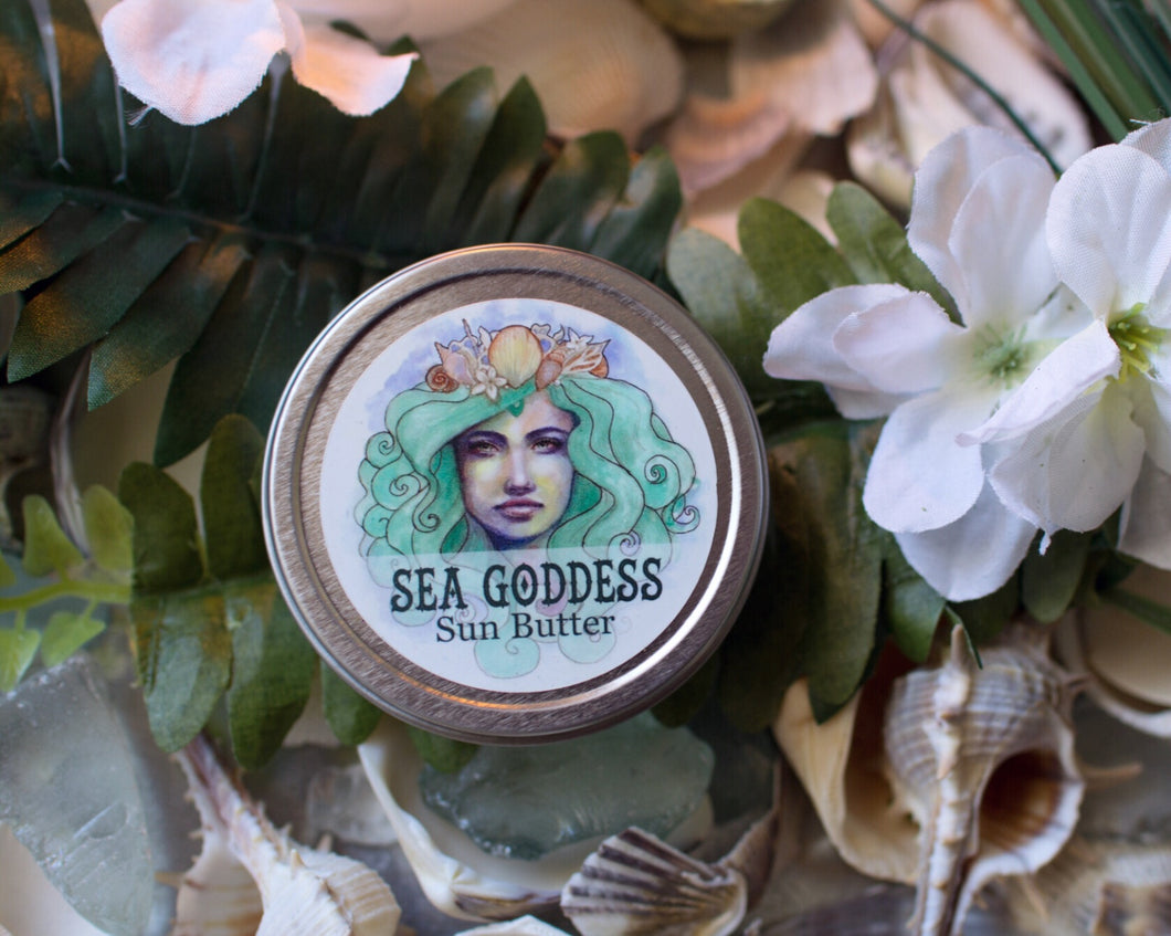 Sea Goddess Sunscreen Butter