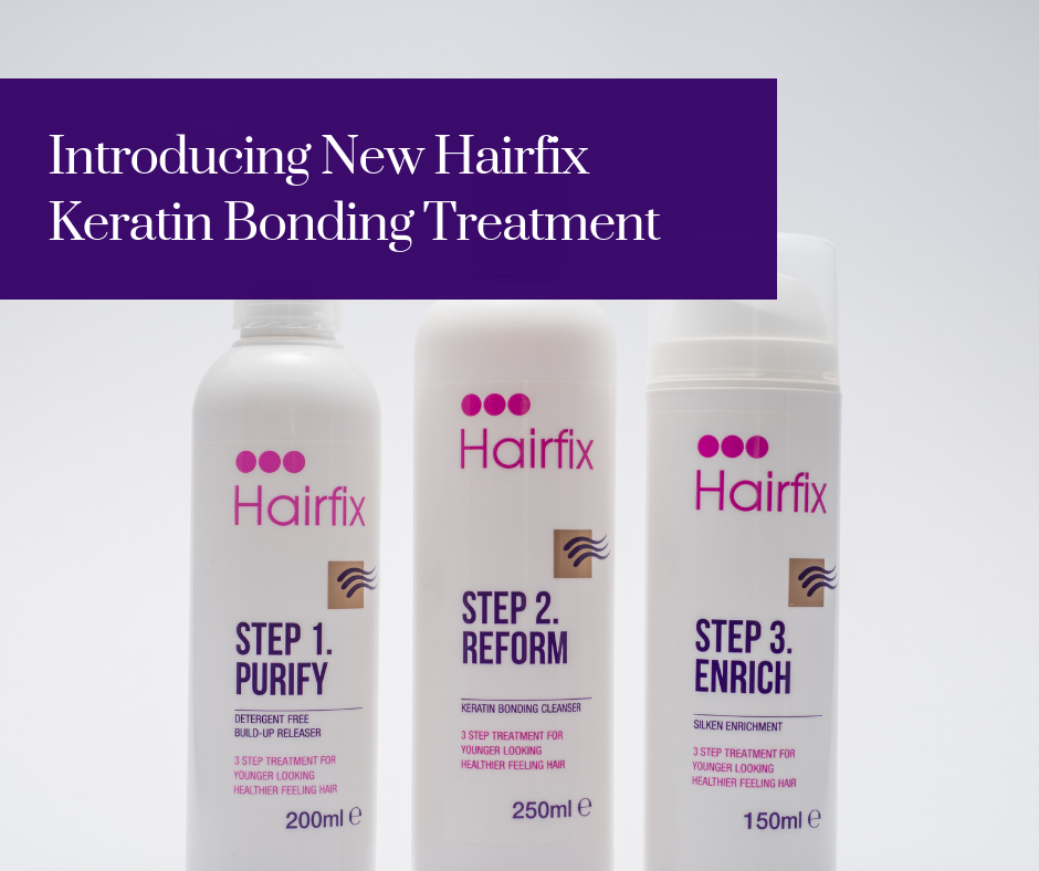 Say hello to our most effective ever three step treatment for fine, stripped, damaged hair.