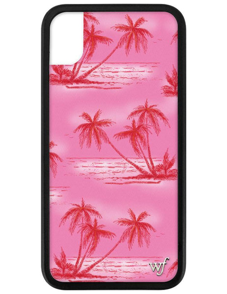 Pink Palms I Phone Xr Case by Wildflower Cases