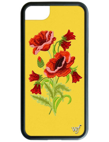 Yellow Floral iPhone 6/7/8 Case