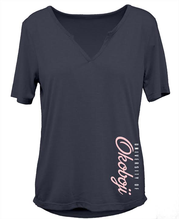 University of Okoboji Dreamgirl Tee - Marine Heather