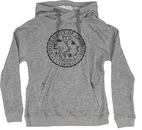 Women's Good Vibes Hoody - Heather Gray