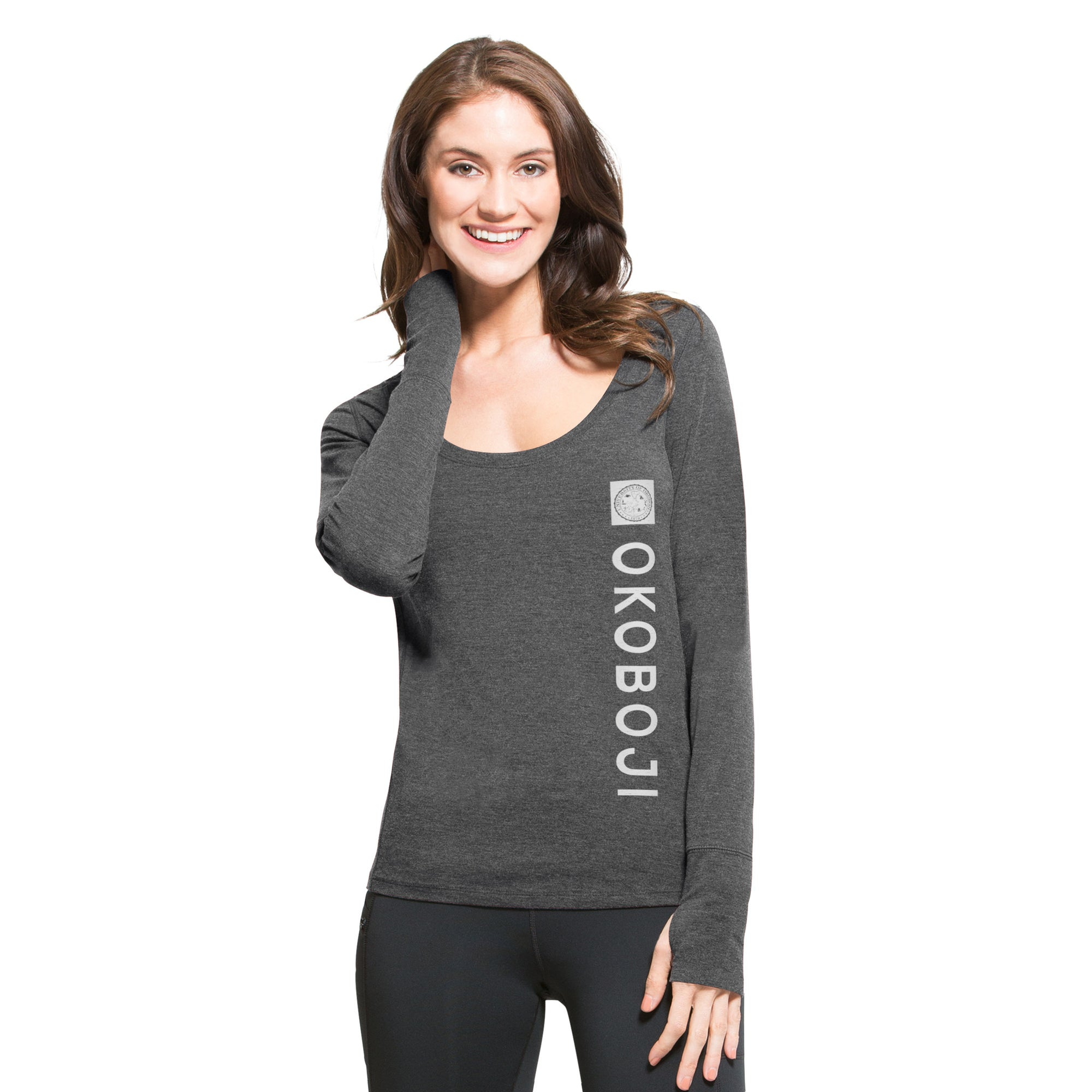 U of O Ladies '47 Forward Dash Long Sleeve Tee