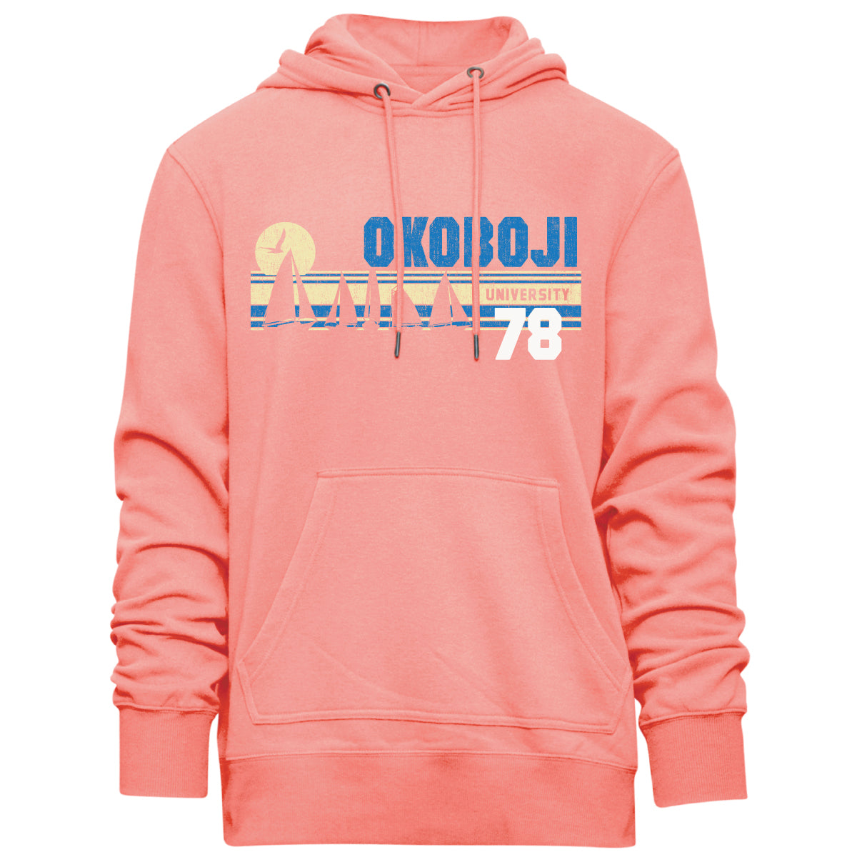 Okoboji Armada Hood - Grapefruit Heather