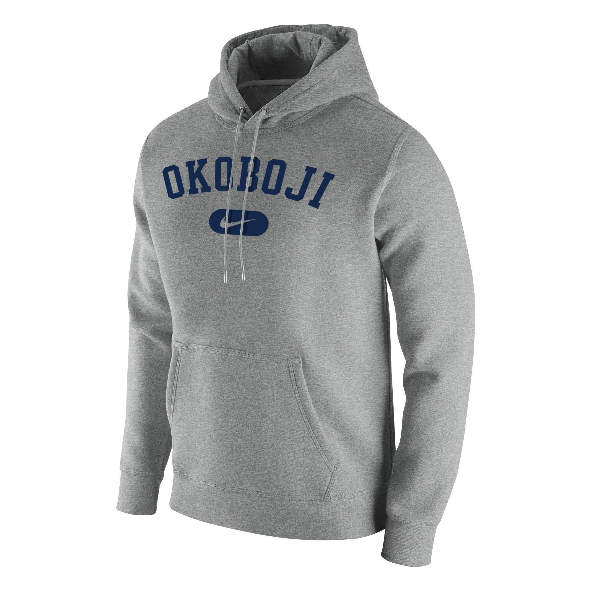 Stadium Club Fleece Hood - Dark Heather