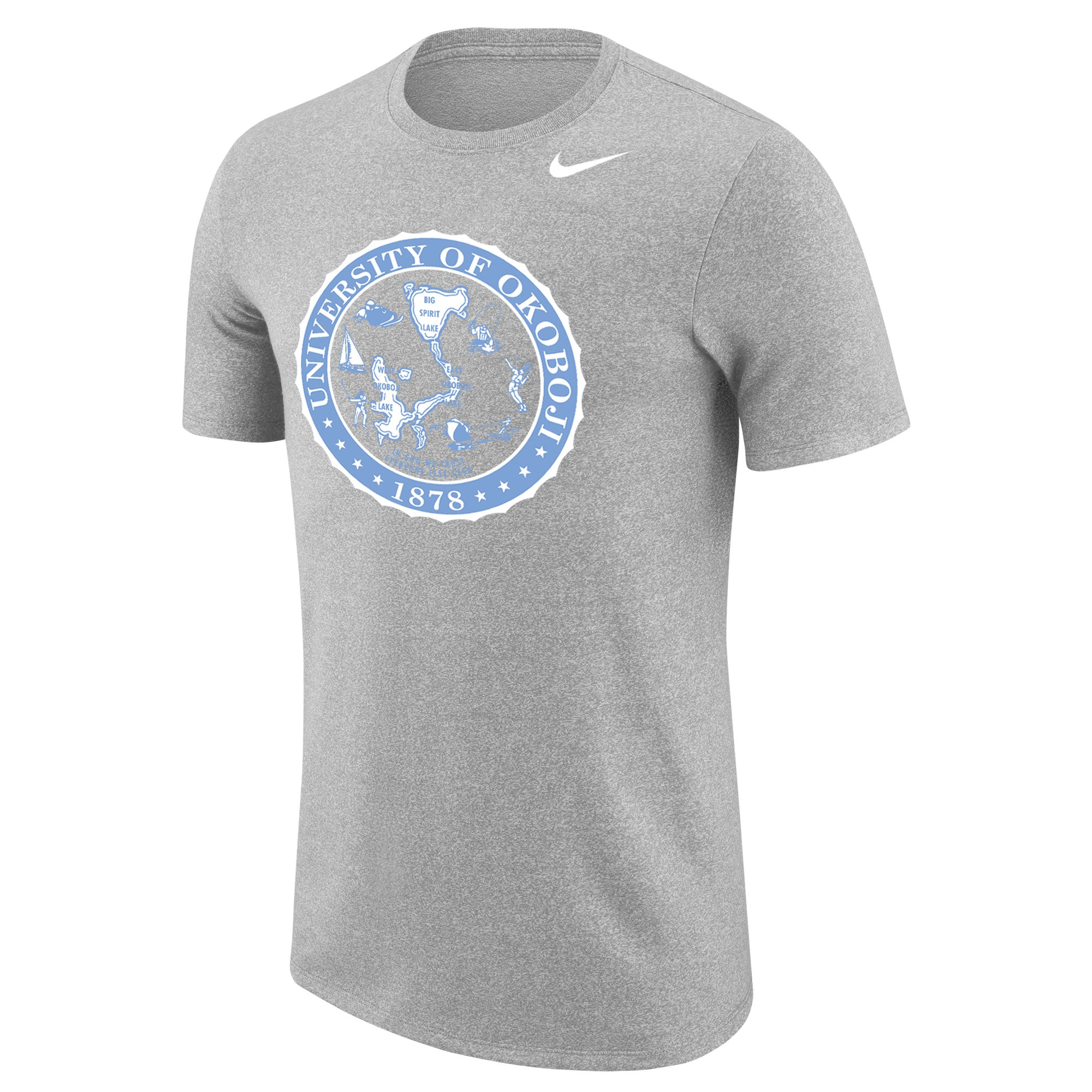 University of Okoboji - Marled Short Sleeve Tee