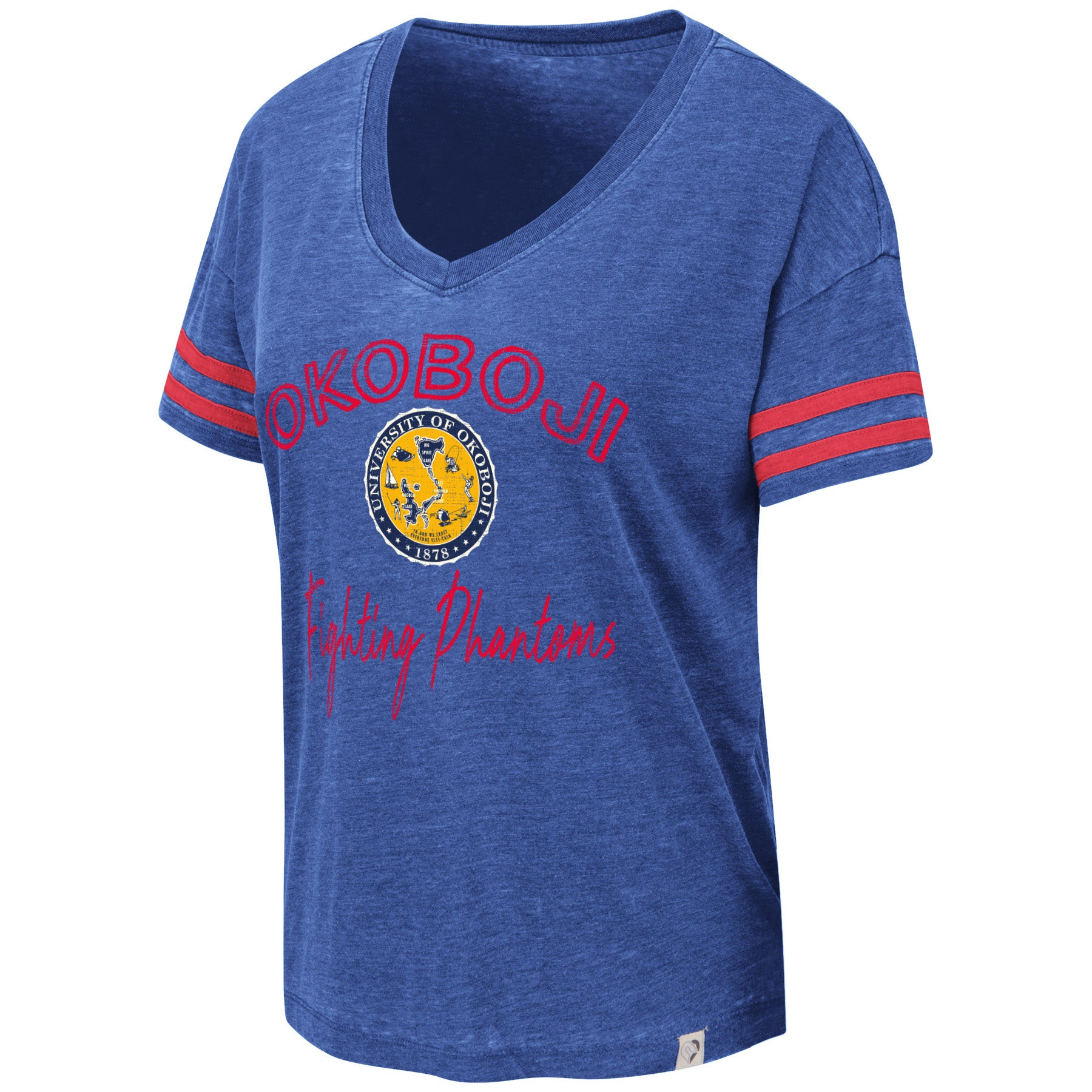 Ladies Okoboji V-Neck Tee
