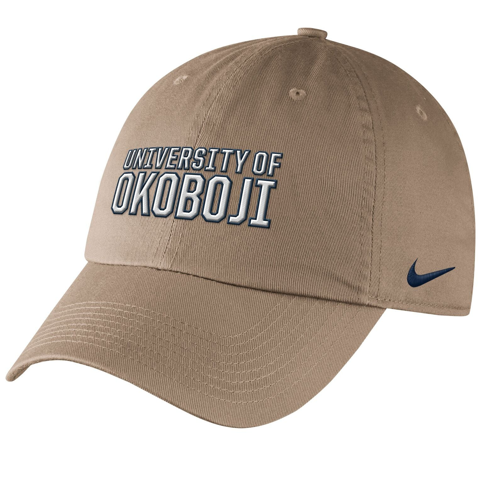 Univeristy of Okoboji Campus Cap - Khaki