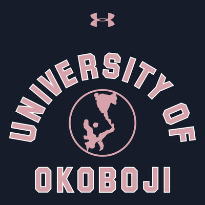 U of Okoboji Charged Cotton Long Sleeve Tee - Navy
