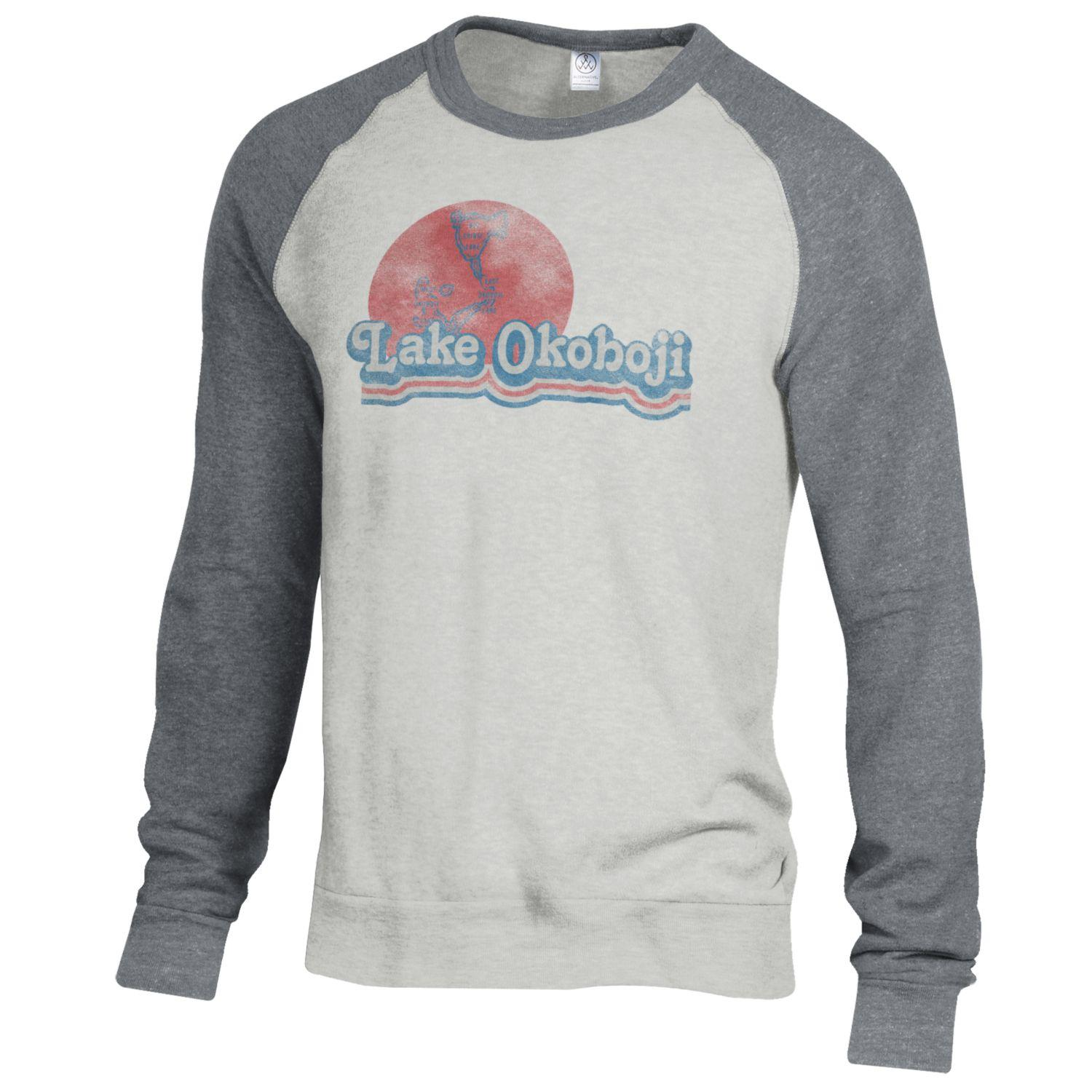 Lake Okoboji Champ Color Block - Oatmeal / Eco Grey