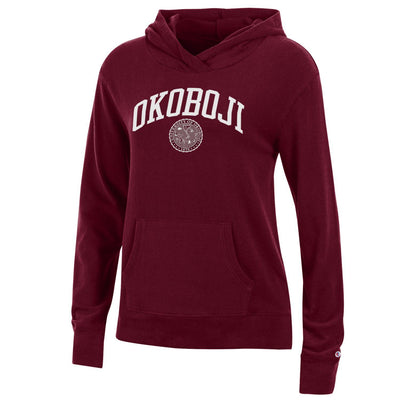 Ladies University Lounge Hood - Maroon