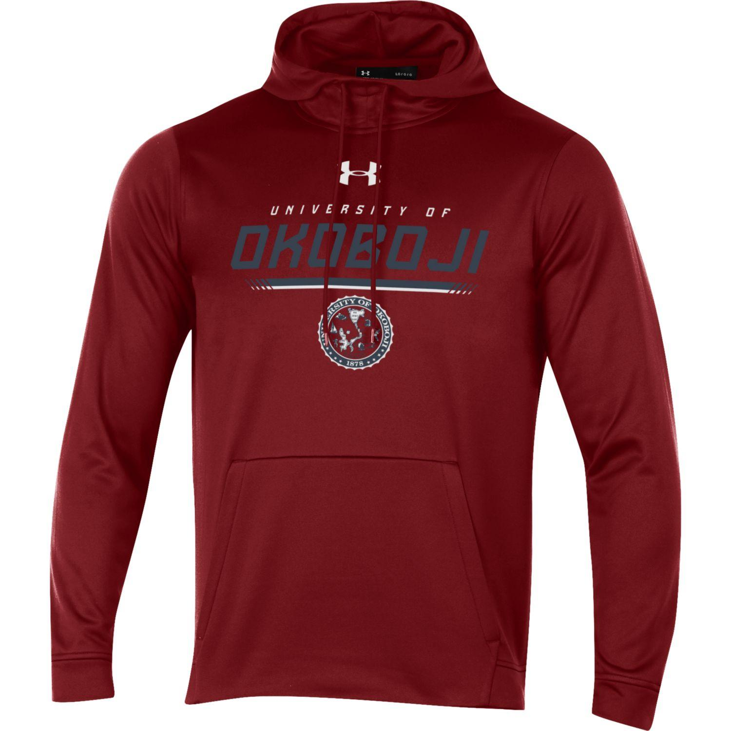 Okoboji Armour Fleece Hood - Maroon