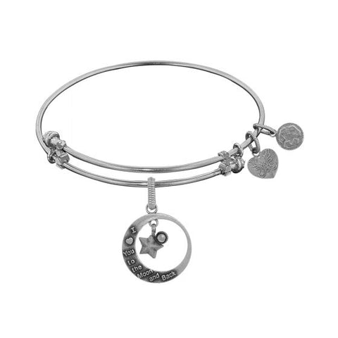 Angelica Love You To Moon & Back Bangle - Oak Ridge Jewelers