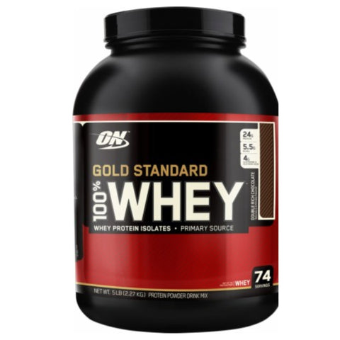 100% Whey Protein 5 lbs Optimum Nutrition