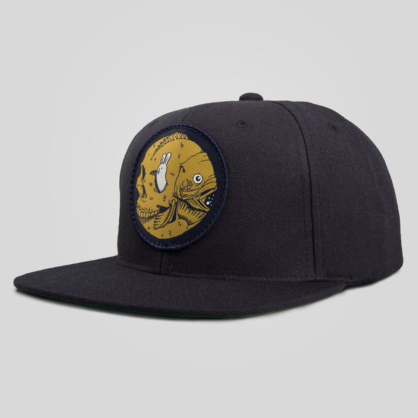 Upper Playground - Lux - Fish Factory Snapback by Jeremy Fish