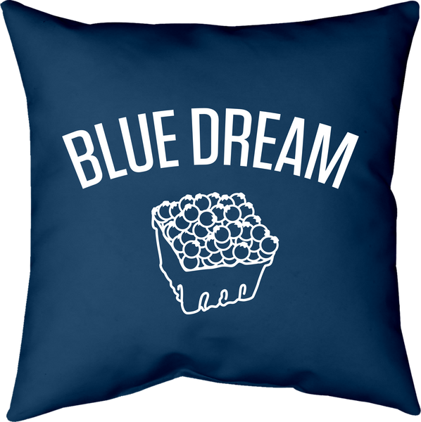 MWW - Blue Dream Pillow by Upper Playground