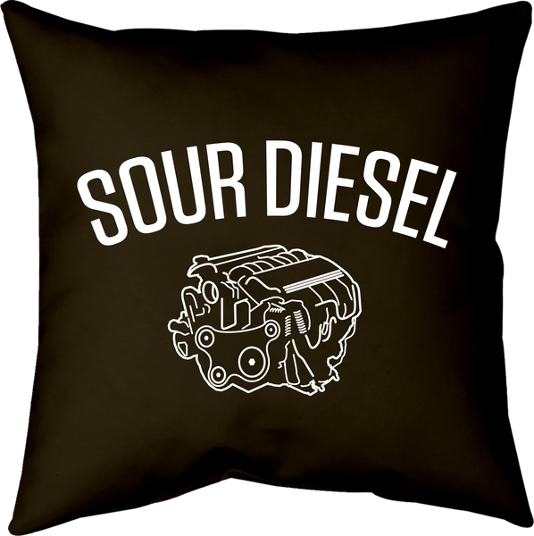 MWW - Sour Diesel Pillow by Upper Playground