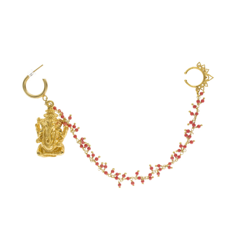 Ganesha Nose Chain