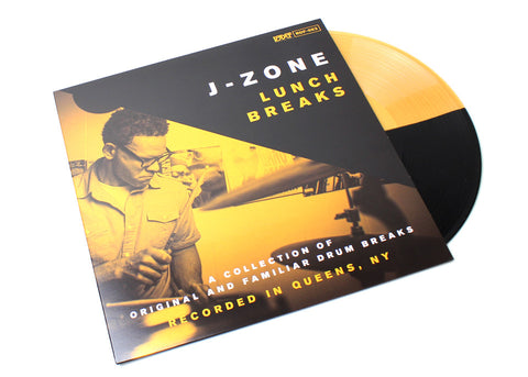 "J-Zone - Lunch Breaks - (Vinyl 12"" LP, Black & Gold Version)"